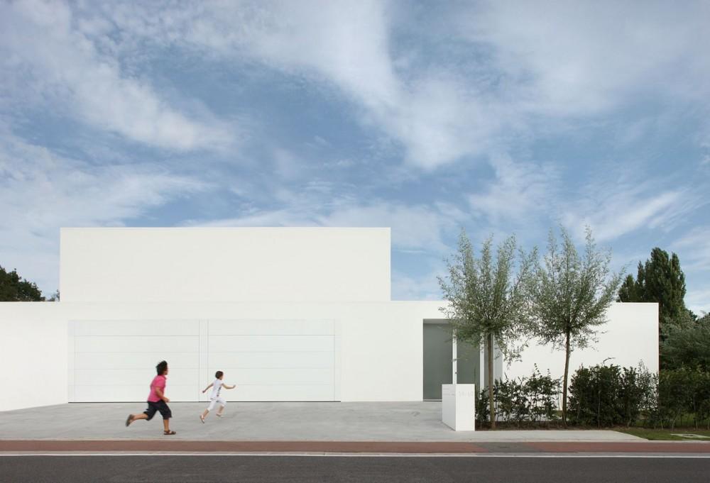 Villa VH en T - Beel & Achtergael Architecten