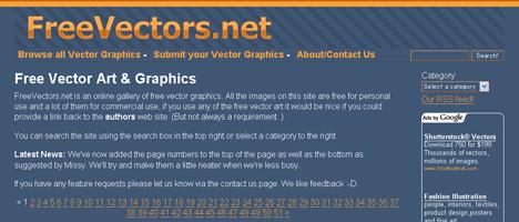 無料でベクターグラフィックが手に入るサイト