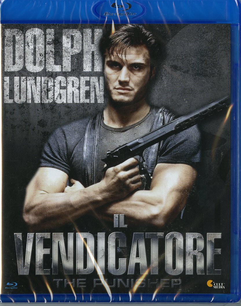 vendicatore the punisher blu-ray