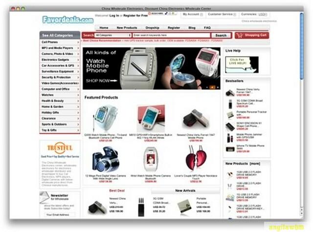 screen1 042 Páginas web para comprar barato en CHINA