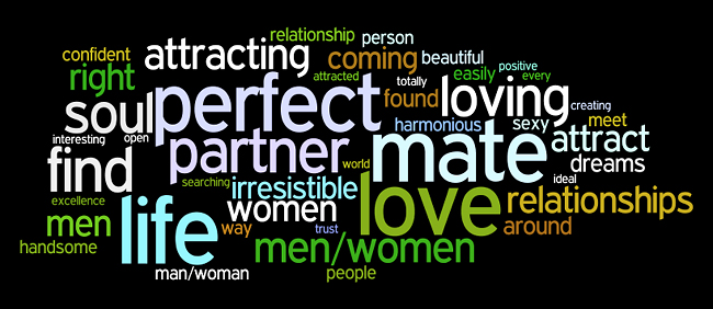 love relationships affirmations wordle