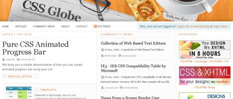 CSSに関するテクニックが掲載されている海外のサイト