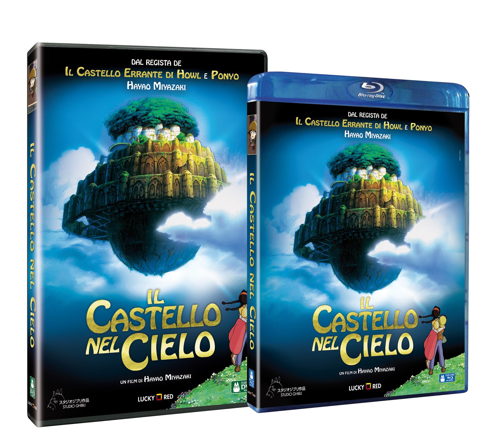 Castello nel cielo dvd e blu-ray