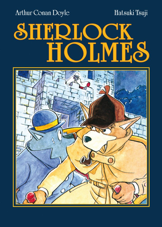 Sherlock holmes manga