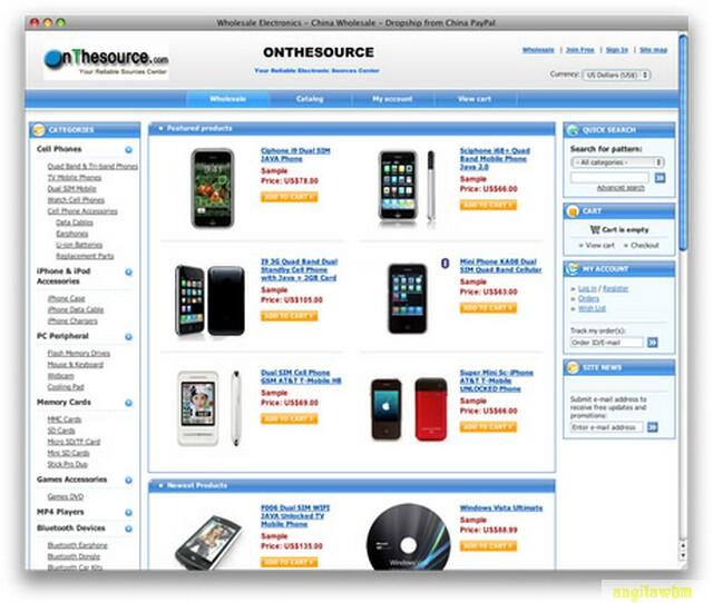 screen1 035 Páginas web para comprar barato en CHINA