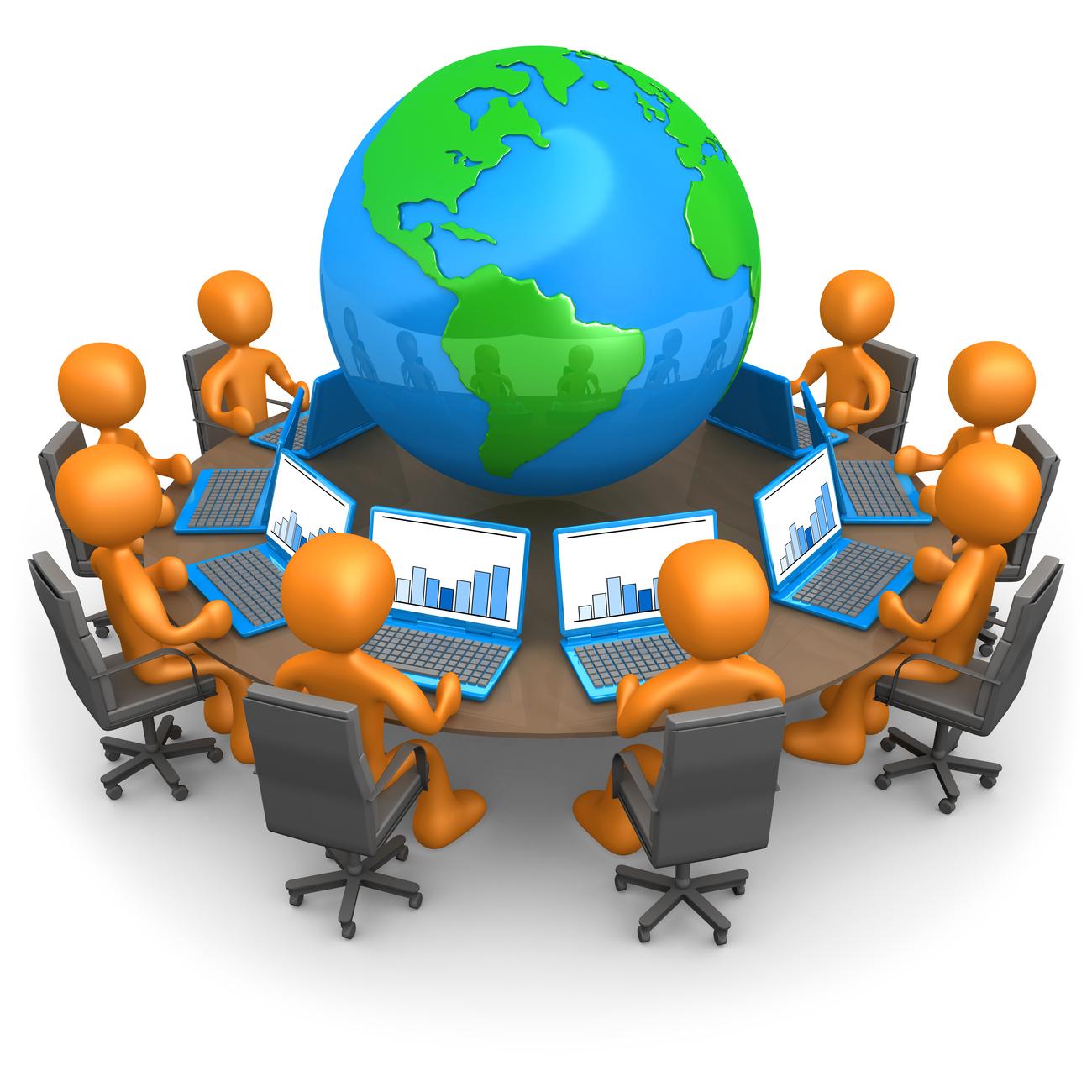 организация видеоконференции в skype