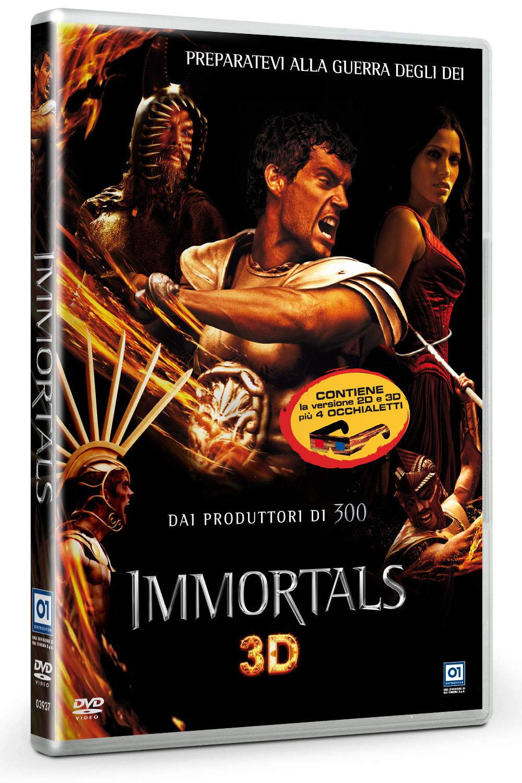 Immortals 3D, DVD, recensione