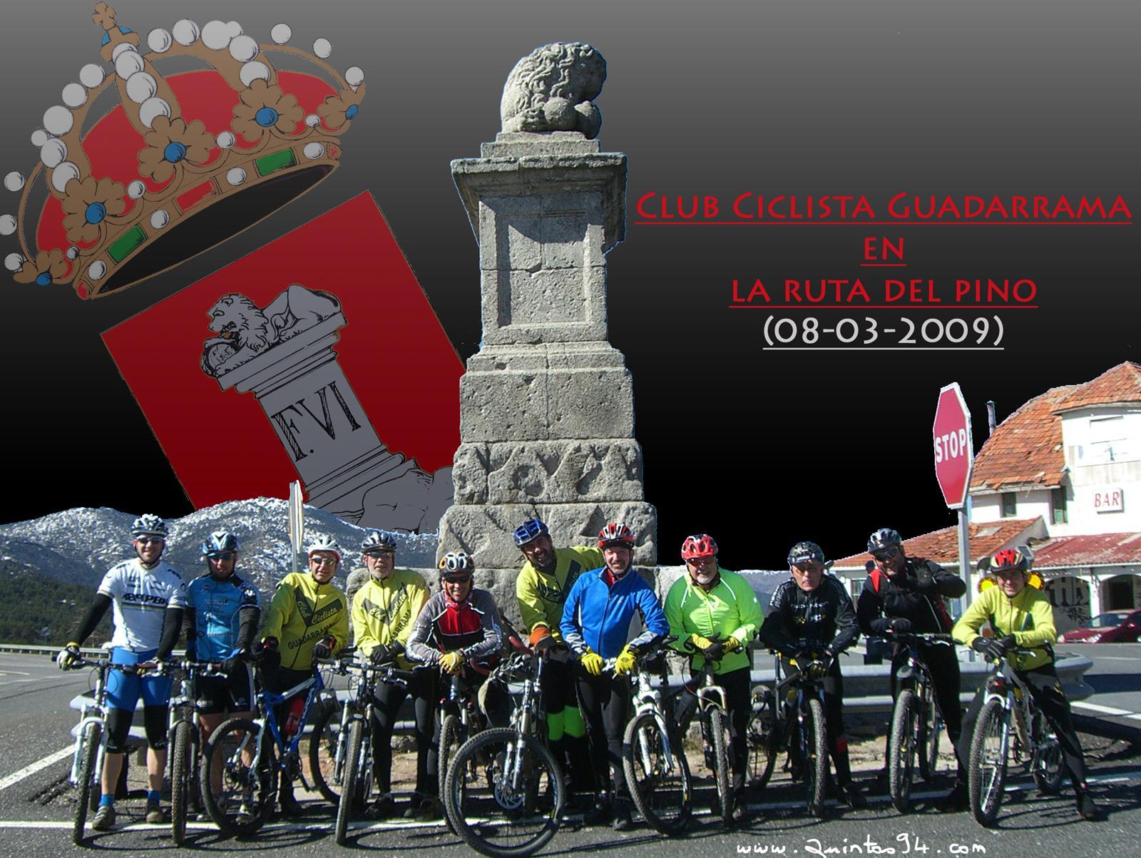Club Ciclista Guadarrama en el Alto del León.