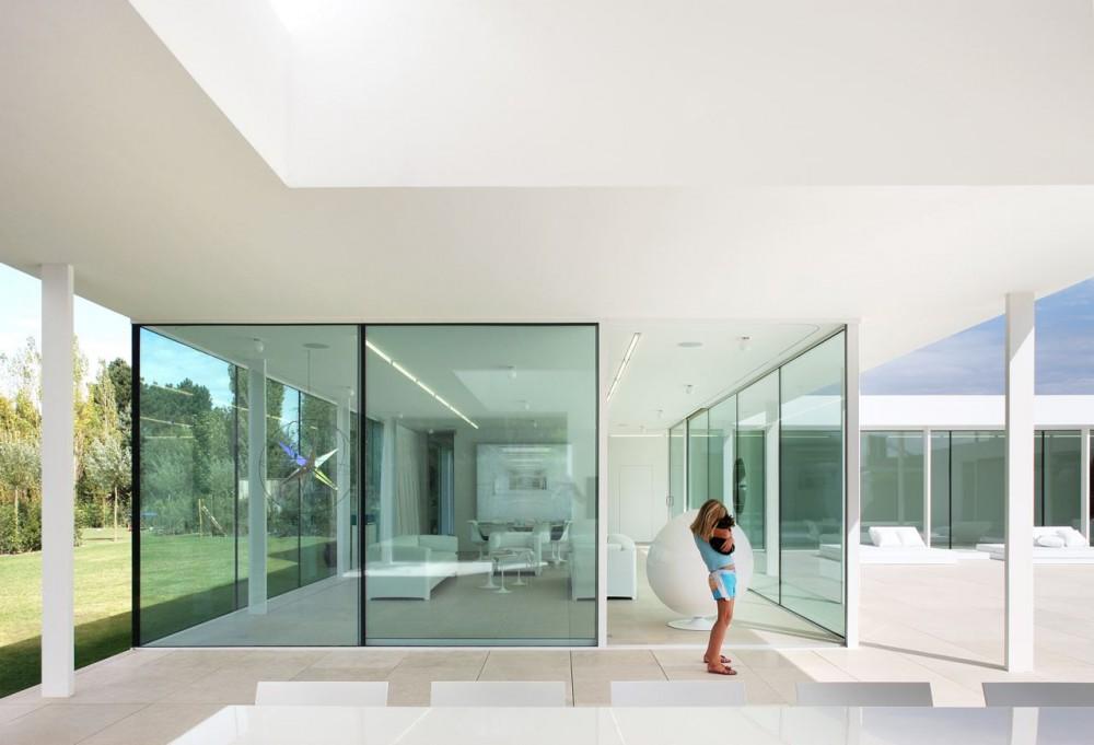 Villa vh en t   beel & achtergael architecten   tecno haus