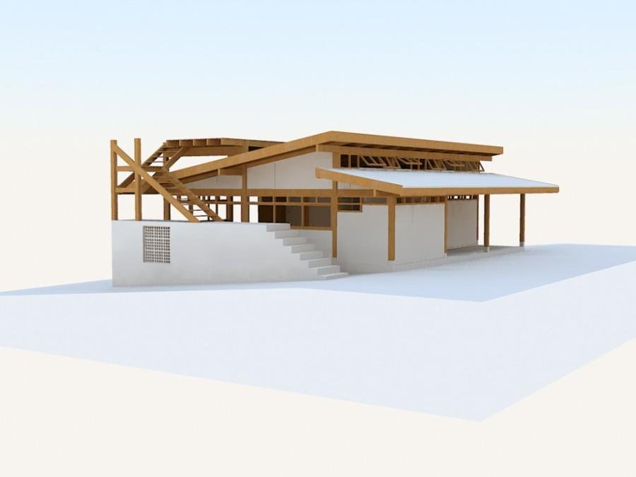 Casa en Praia do Bonete - Pedro Saito