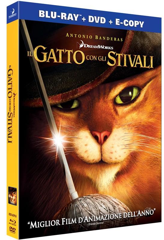 Il Gatto con gli stivali Blu-Ray