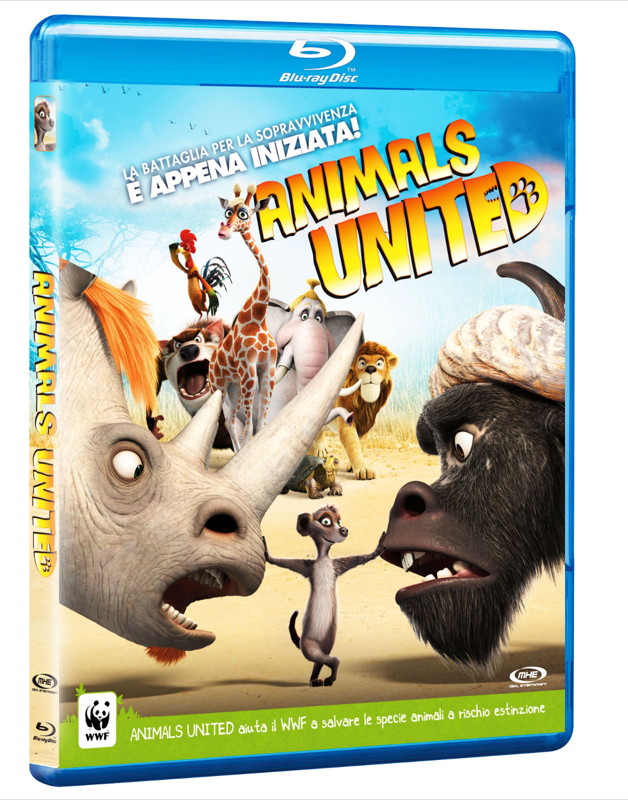 Animals United copertina Blu-ray