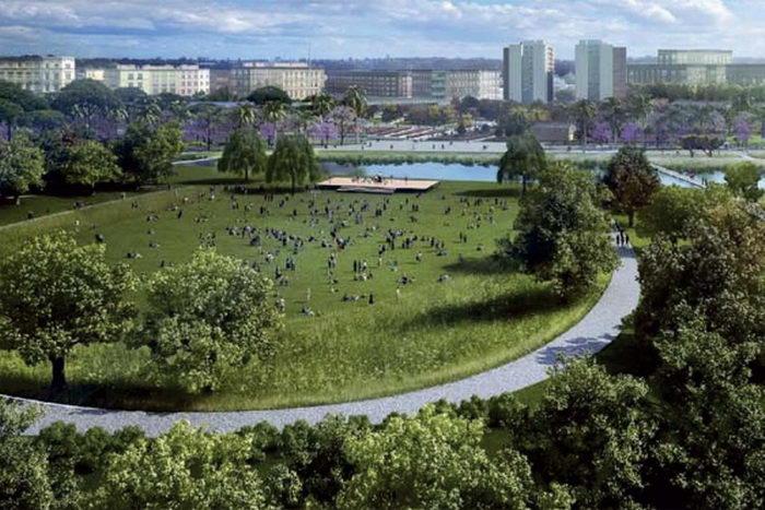Parque Central de Valencia - Kathryn Gustafson