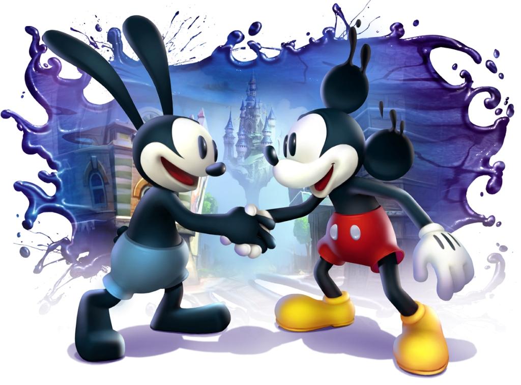 Epic Mickey 2 topoino e oswald