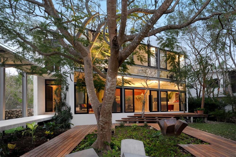 Casa Entre Árboles - Muñoz Arquitectos Asociados