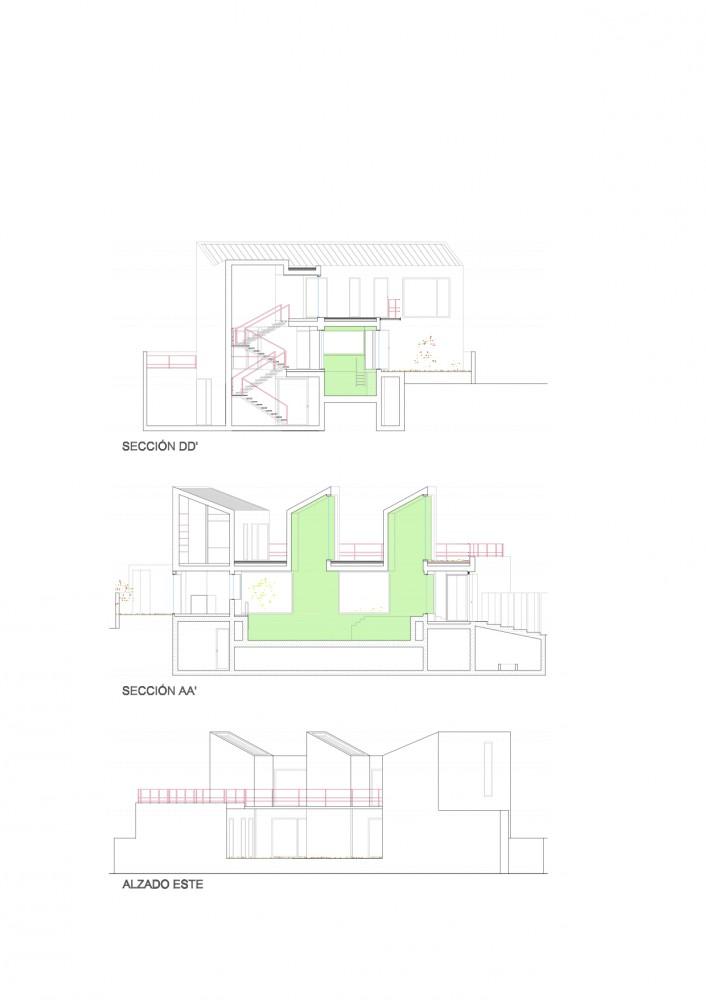 Casa Perforada - Cobaleda & García Arquitectos