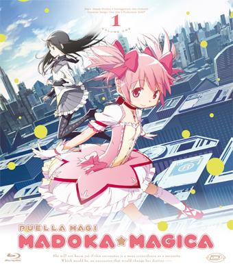 Puella magi madoka magica, blu-ray recensione cover