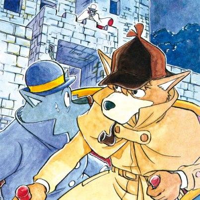 Foto: OTTIMO FIUTO, COMPLIMENTI!Molti di voi hanno azzeccato la risposta al nostro quiz: si tratta proprio del detective di Baker Street (nella sua sua celeberrima incarnazione canina) che nella sua versione animata ha allietato i pomeriggi di innumerevoli spettatori italiani, realizzata tra l'Italia e il Giappone dalle sapienti mani della 'nostrana' famiglia Pagot e del premio oscar Hayao Miyazaki. Il manga racconta avventure completamente inedite, mai apparse nella serie tv, condita da diversi interessanti 'extra'.Incredibile ma vero: il primo speciale che arriva in anticipo sulla solita mole di annunci lucchesi… e non è finita qui!