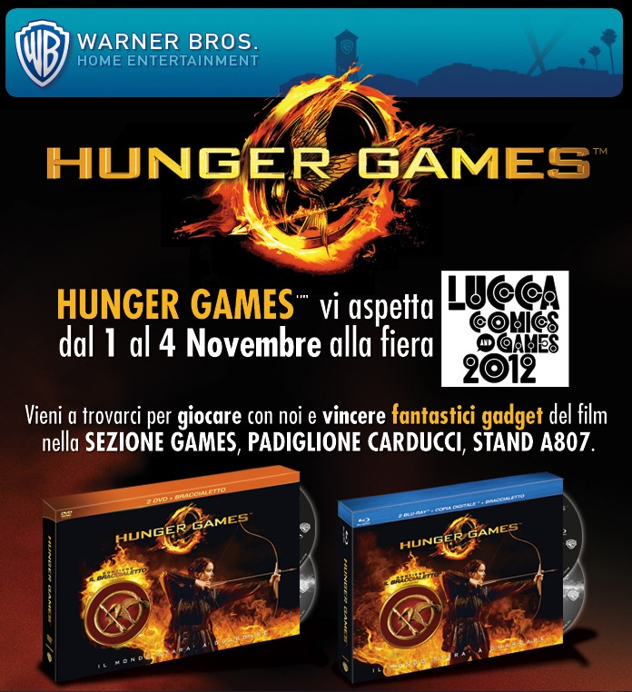 hunger games lucca comics and games 2012
