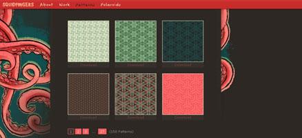 背景に使えそうなパターンを配布しているサイト