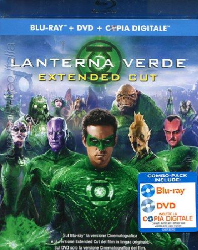 Lanterna verde blu-ray combo cover