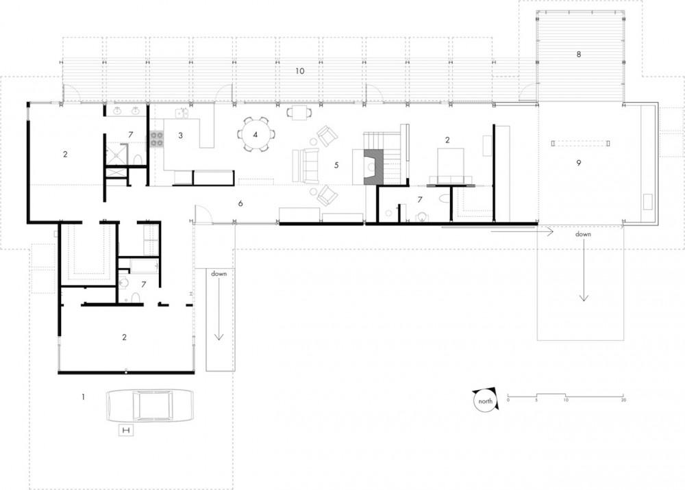 Residencia País Bajo - Frank Harmon Architect