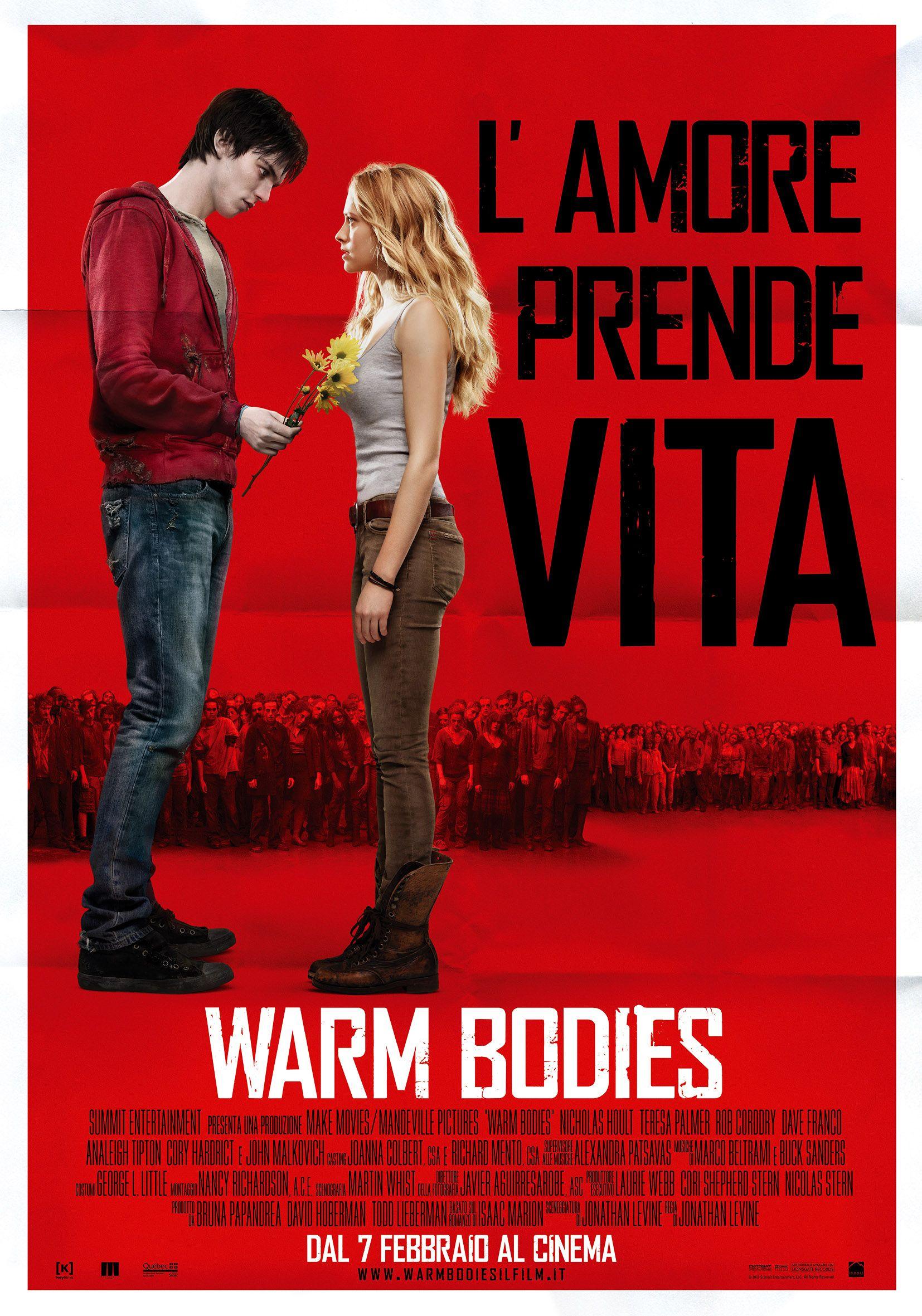 Warm Bodies Locandina italiana