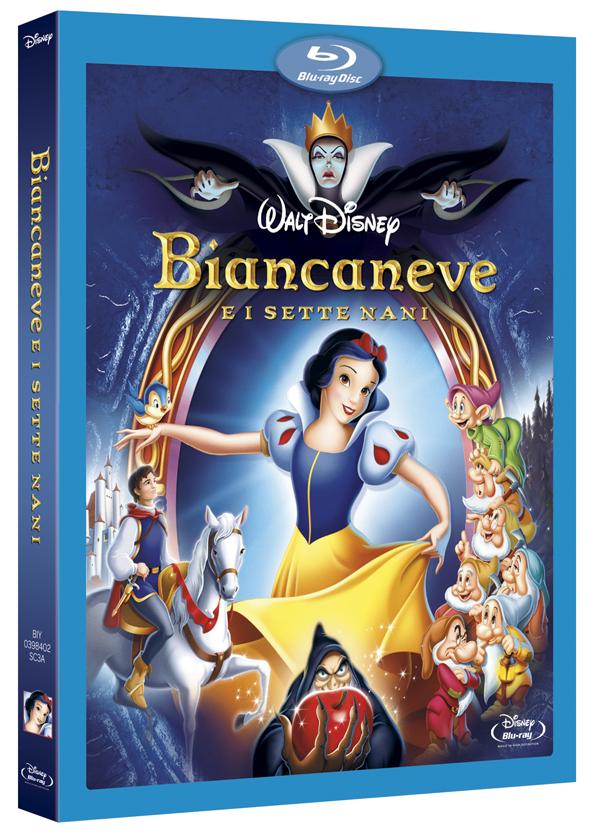Biancaneve e i sette nani blu-ray