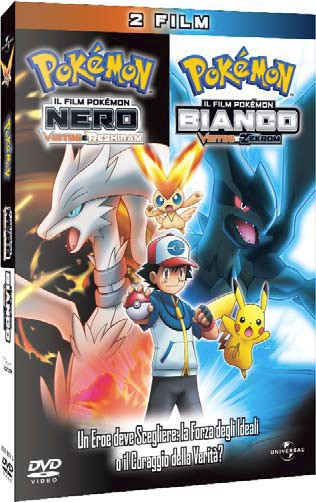 Pokemon film bianco nero