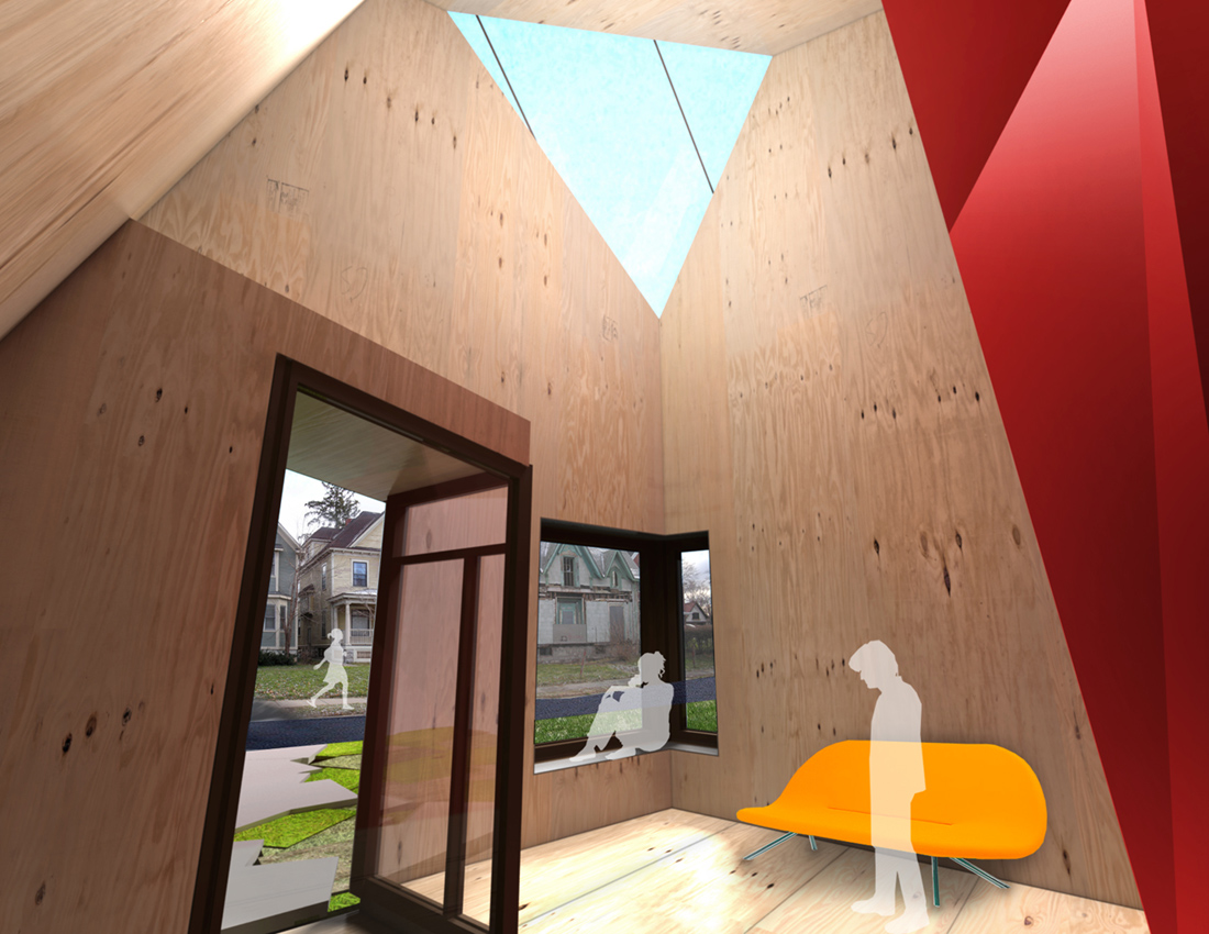 Hybrid-House, Konyk, Architecture, Design, House, Interiors, Renders,