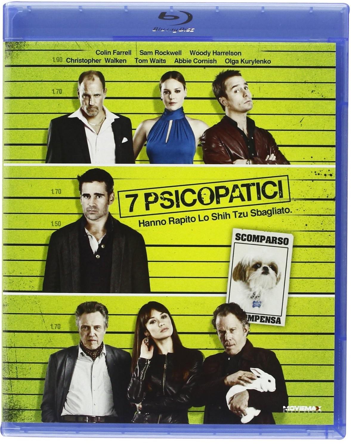 7 psicopatici blu-ray