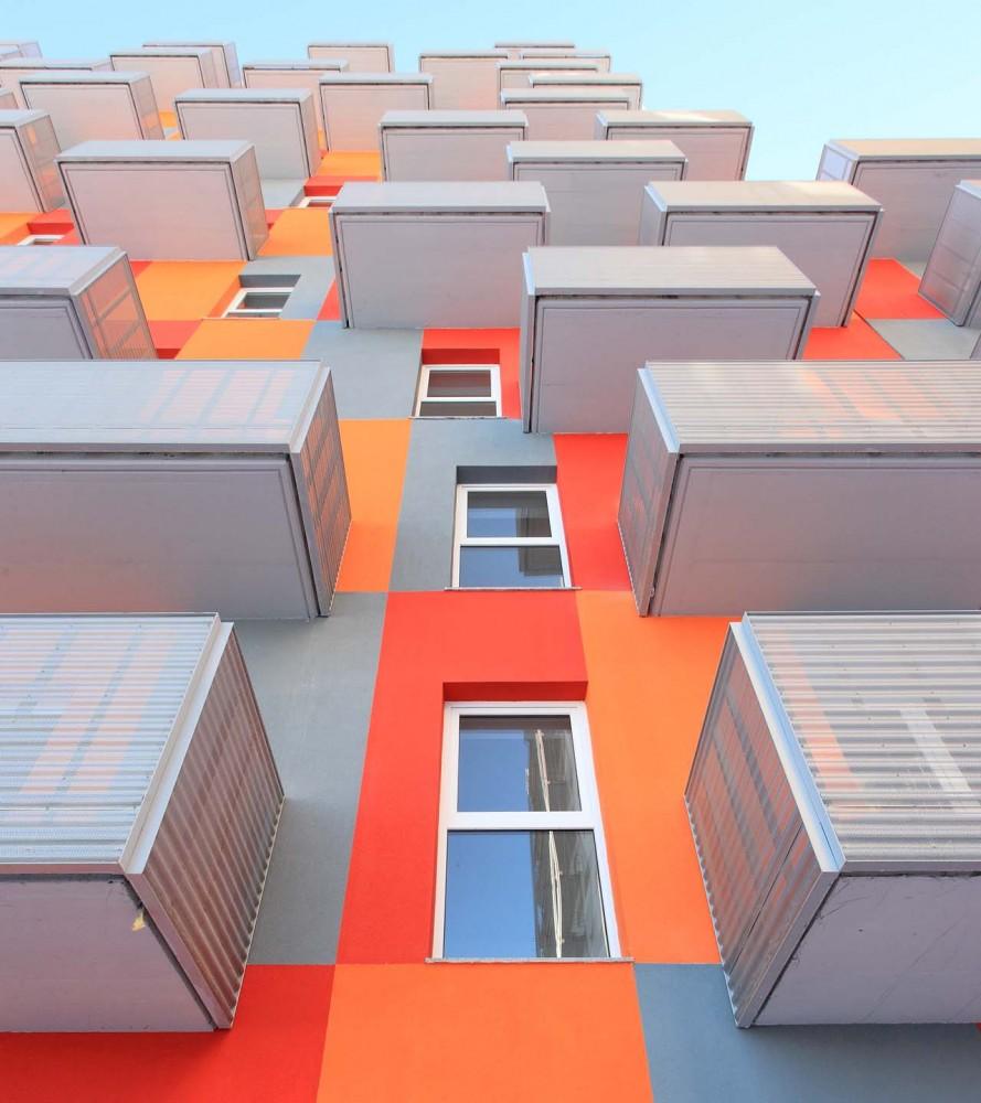 Conjunto residencial - Solano & Catalan