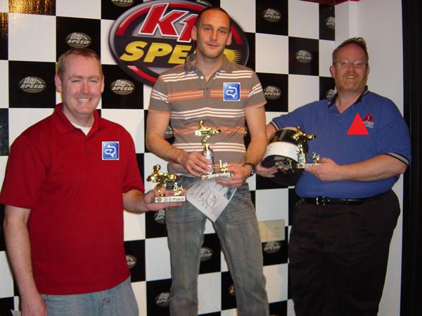 OCS cleans up at K1