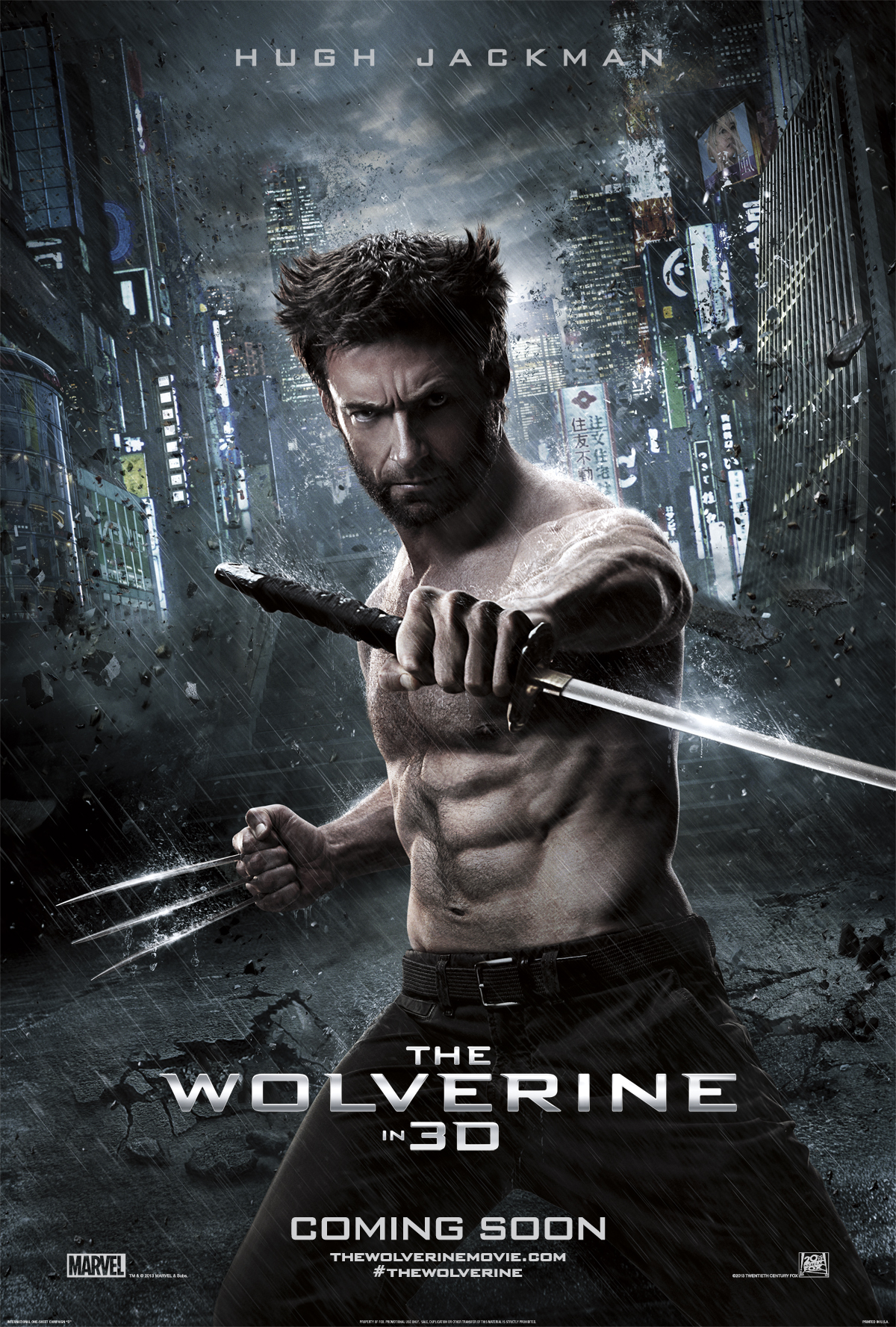 wolverine l'immortale poster