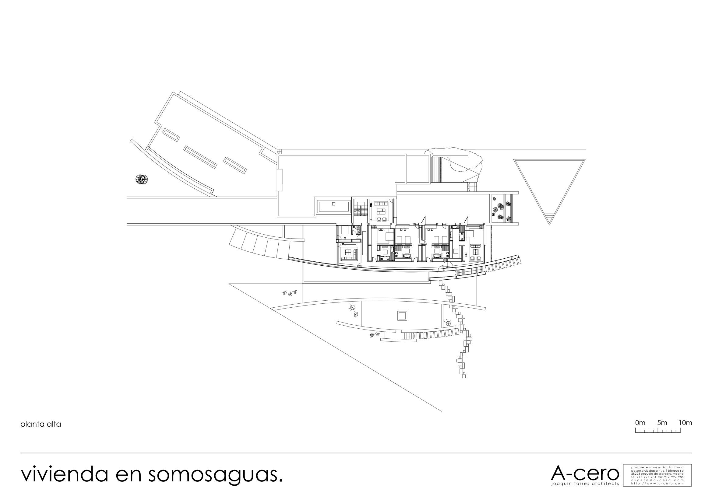 Casa en Somosaguas, A-cero, arquitectura, casas