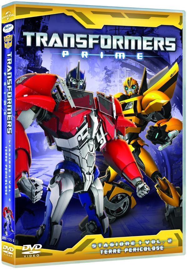 transformers prime dvd 2
