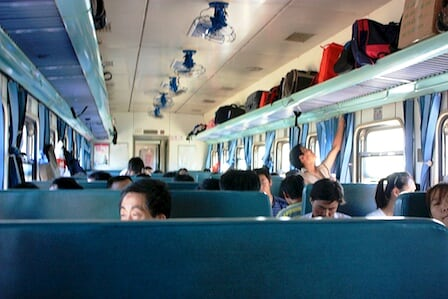 在路上,中國火車旅遊紀實…