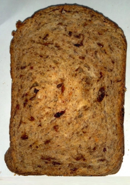 梅酒漬果乾亞麻仁籽麵包