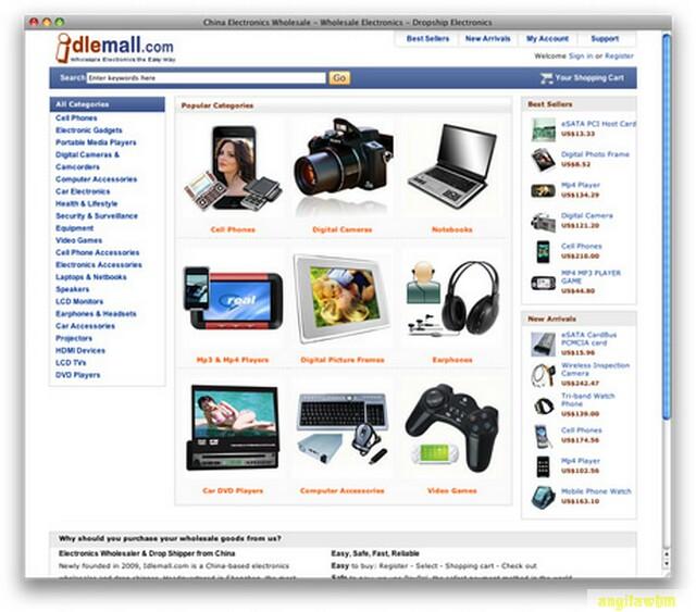 screen1 044 Páginas web para comprar barato en CHINA