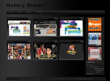 Plantilla Gallery para Blogger