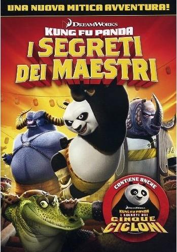 Kung Fu Panda i segreti dei maestri i segreti dei cinque cicloni dvd cover