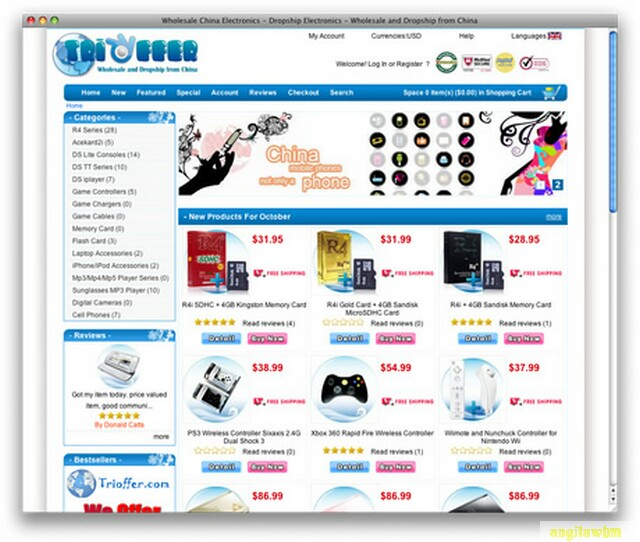 screen1 002 Páginas web para comprar barato en CHINA