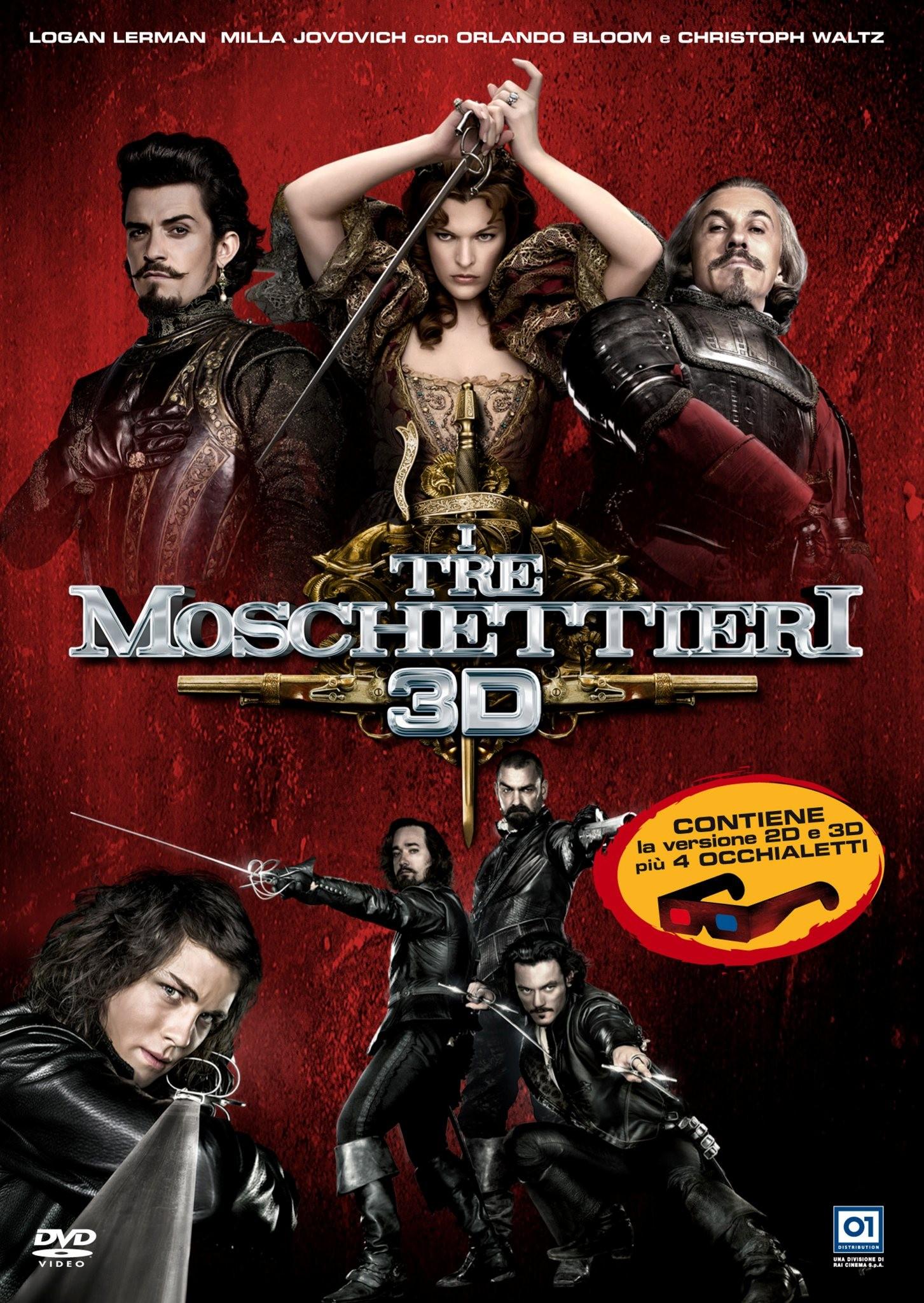Tre moschettieri cover dvd