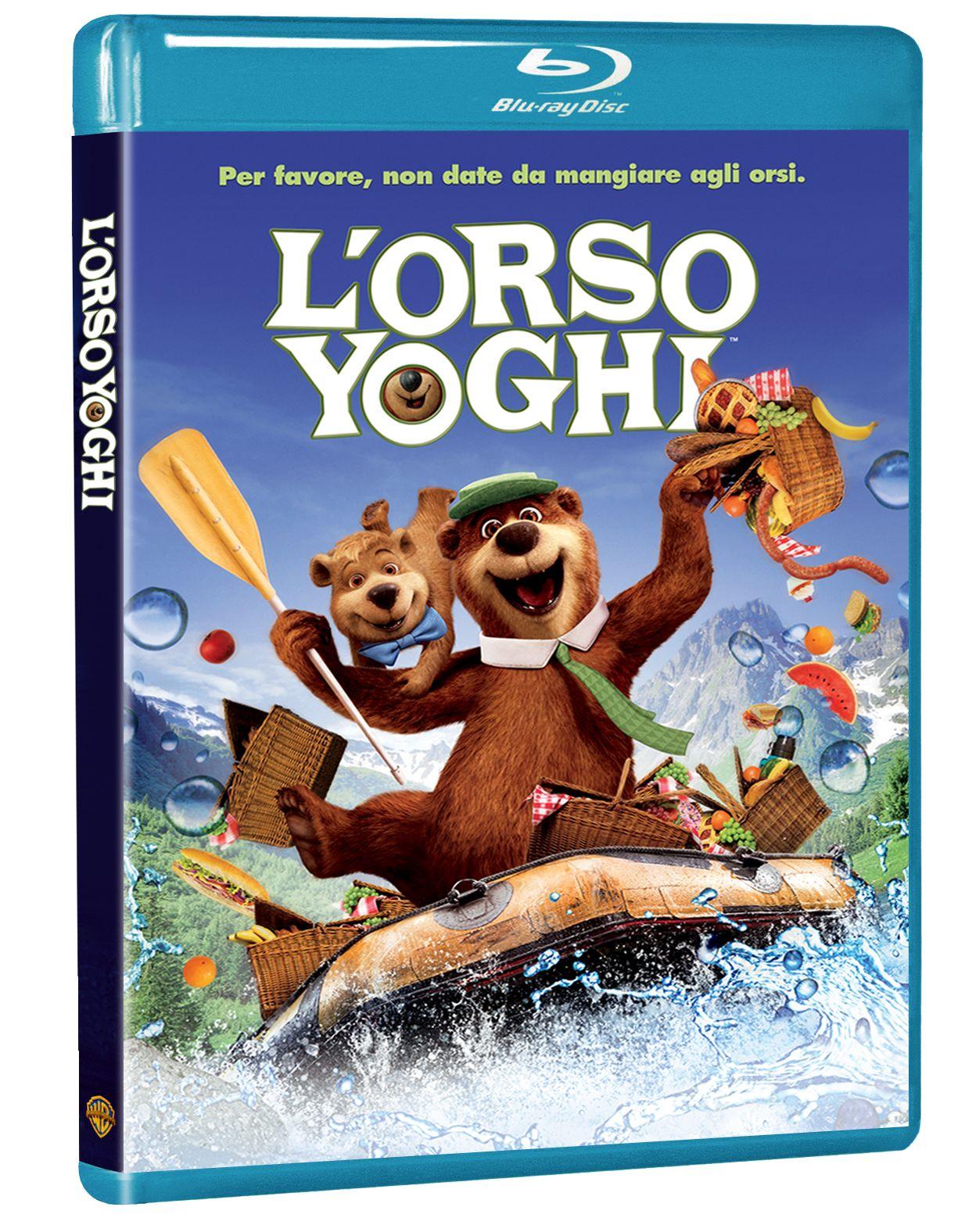 Orso Yoghi film blu-ray copertina