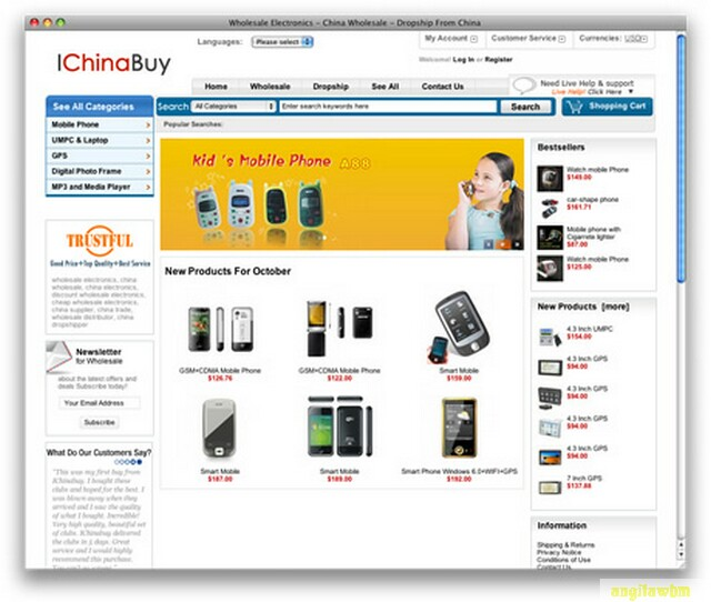 screen1 012 Páginas web para comprar barato en CHINA