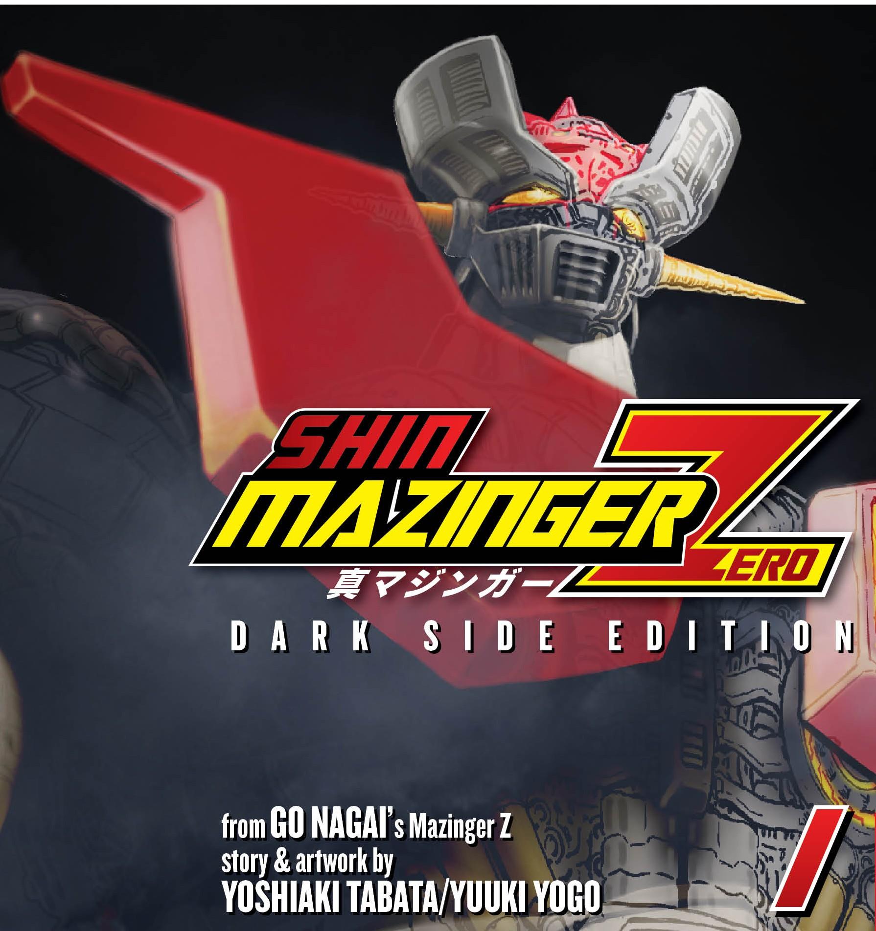 Shin Mazinger Zero Variant Cover