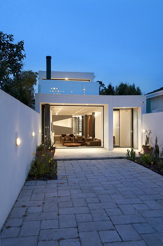 Casa Blanca en Prahran - Nervegna Reed Architecture + PH Architects