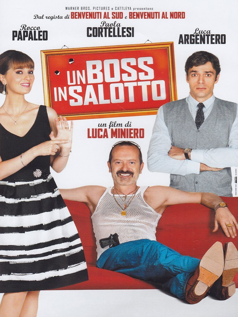 un boss in salotto dvd