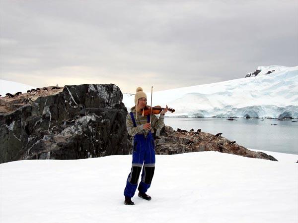 ウエッデル海、南極半島&サウスシェットランド諸島クルーズに参加された山口さん