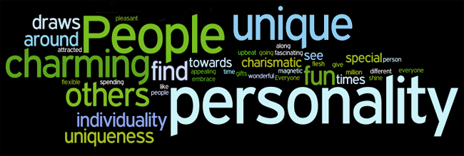 personality affirmations wordle